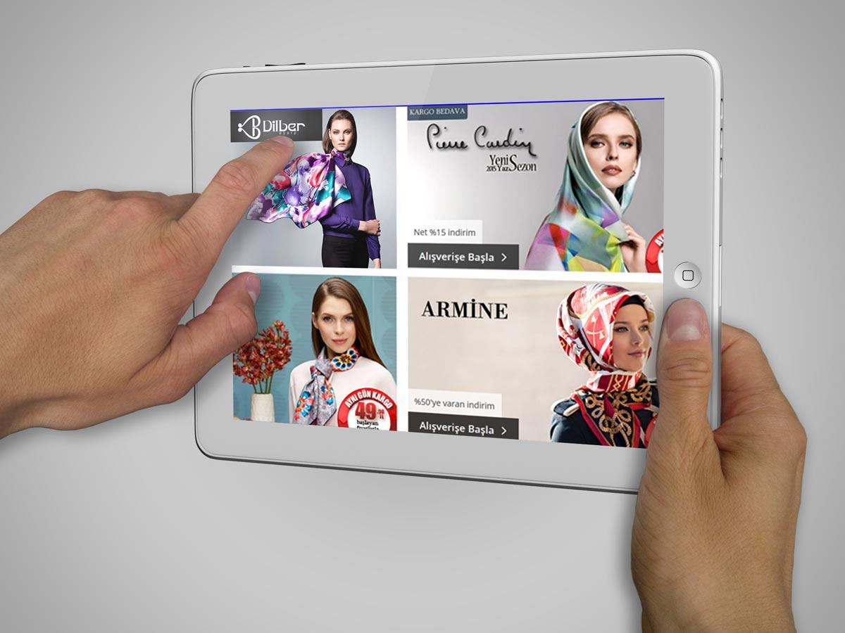 طراحی هویت بصری برند روسری