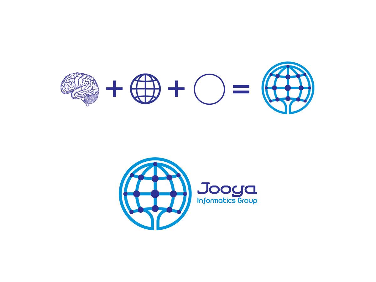 طراحی لوگو داده ورزی
