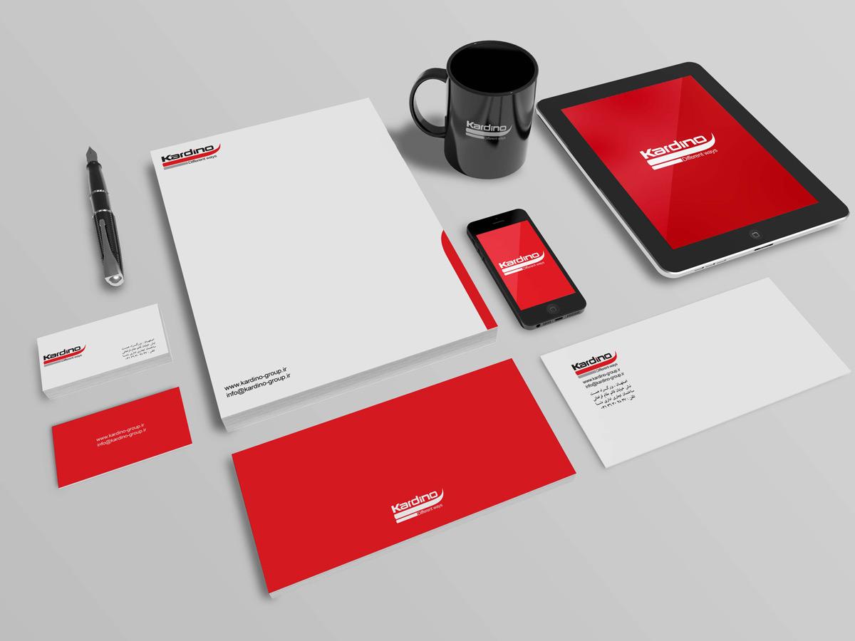 طراحی هویت بصری گروه بازرگانی