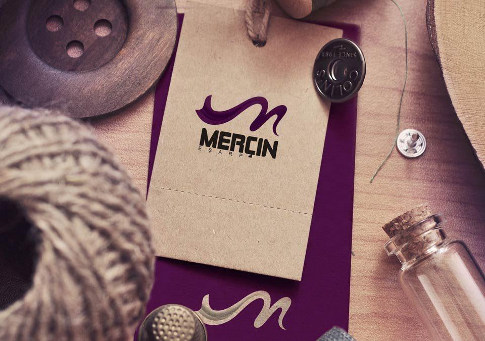 طراحی لوگو برند روسری مرسین