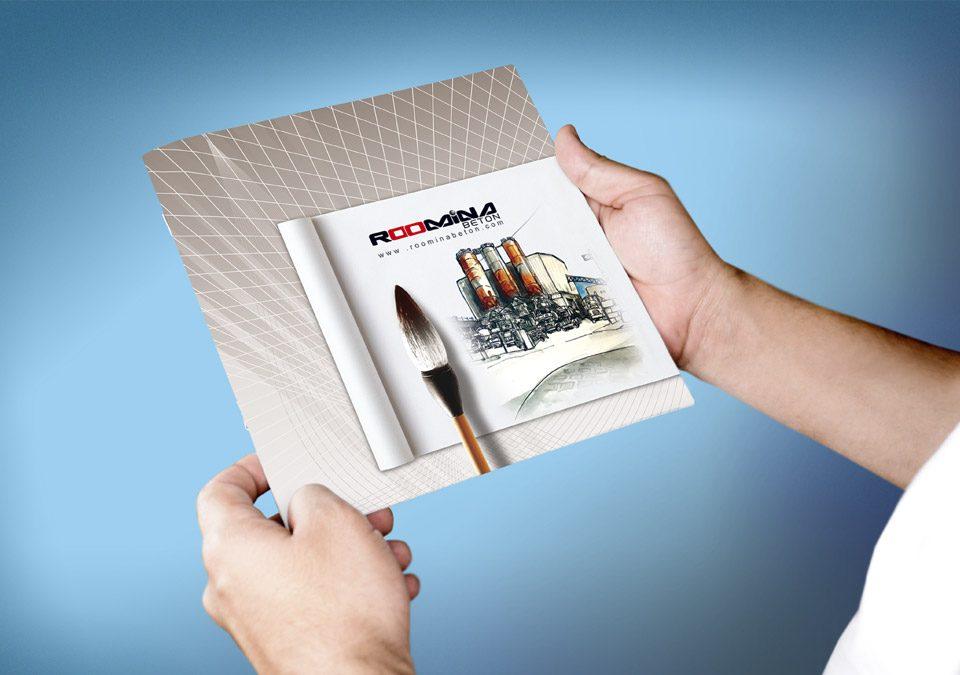طراحی کاتالوگ شرکت ساختمانی