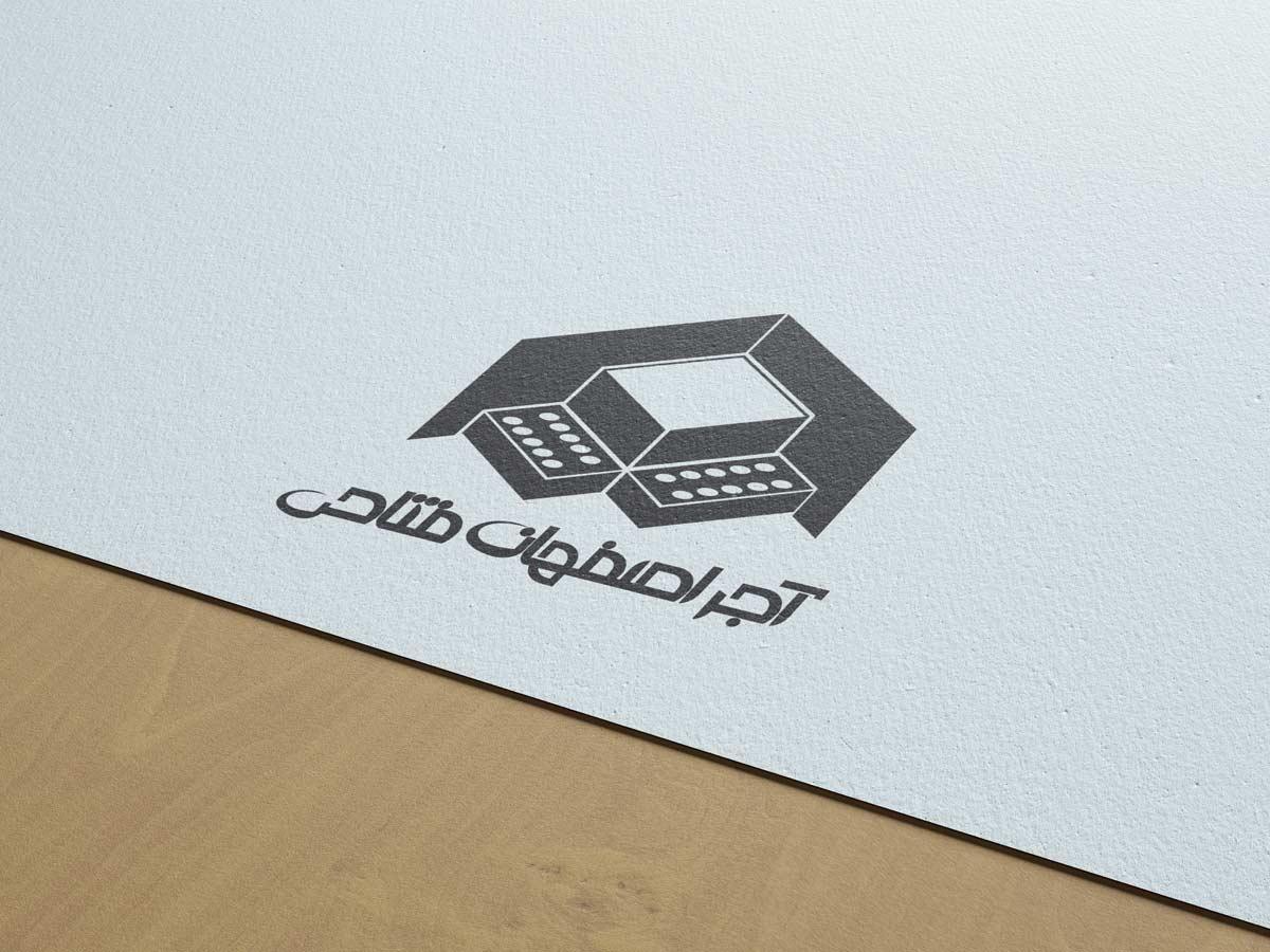 طراحی لوگو آجر