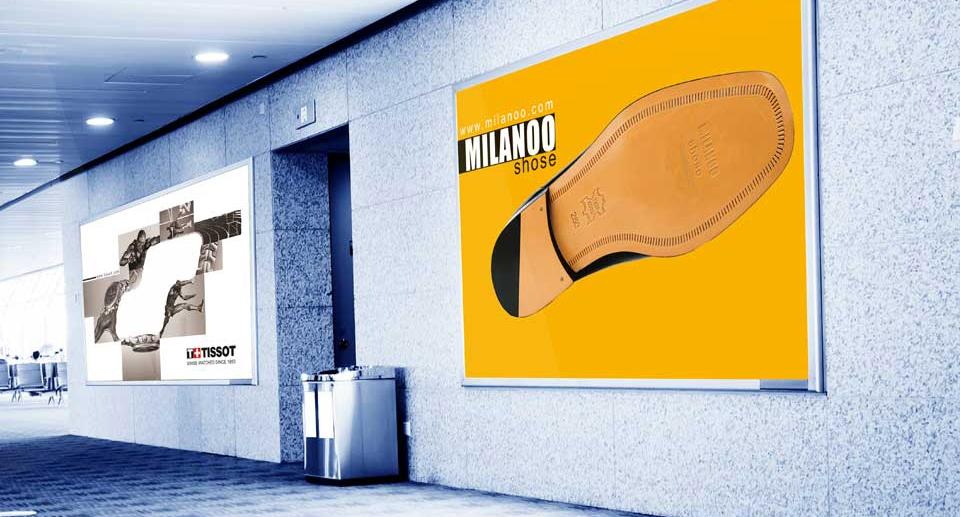 طراحی پوستر و آگهی تجاری میلانو